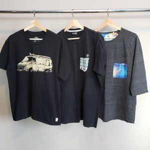 O'neill, Volcom, On the Byas T-Shirts Large Bundle